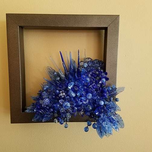 Framed Art blue...More